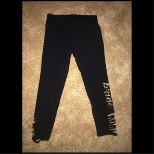 Bride Leggings With Cutout Sides Size Small